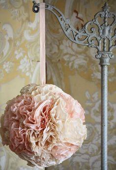 Elegant Tissue Poms