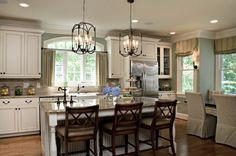 Kitchen Window Treatment Ideas With Hardwood Floors