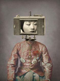 LILLARD Julia - disconnect - collage numérique 2015