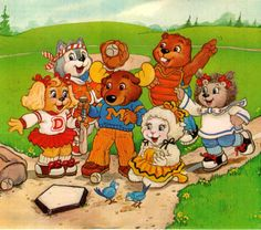 The Get Along Gang! I watched this all the time as a kid but could never remember what it was called!