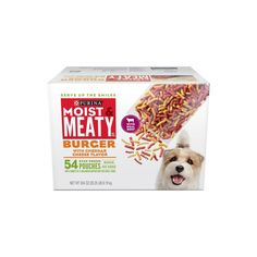 Purina Moist and Meaty Burger for Pets with Cheddar Cheese Flavor, 54 Count * You can get more details by clicking on the image. (This is an affiliate link and I receive a commission for the sales)