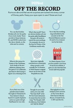 Think you know everything about Disney? Think again! Think you know everything about Disney? Think again! Disney World Vacation Planning, Disneyland Vacation, Walt Disney World Vacations, Disney Planning, Disney Travel, Disneyland Food, Disneyworld Packing List, Vacation Ideas, Disney Vacation Surprise