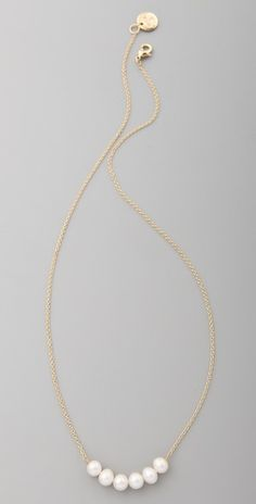 Rachel Leigh Jewelry Society Delicate Necklace   SHOPBOP