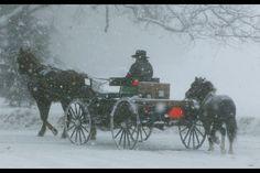 Amish winters.