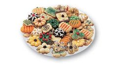 sugar cooki, christma cheer, cooki press, cookie press, spritz cookies, cooki decor, bake decor, color sugar, press cooki