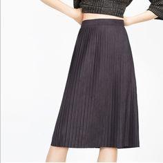 Zara black skirt Brand new with tag Zara Skirts