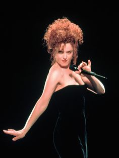 Bernadette Peters (born Bernadette Lazzara; Broadway & theater vocalist. Originated roles in film musicals Sunday In the Park With George, & the revivals of Annie Get Your Gun, Gypsy, & Follies. Also sang in the film musicals Pennies From Heaven & Annie. Youngest person inducted into the American Theater Hall of Fame, as well as received a star on the Hollywood Walk of Fame, 2 Tony Awards, a Special Tony Award, & 9 Drama Desk Awards.)