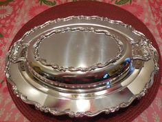 Silver Plate Casserole Covered Dish Wm Rogers by TorriesTeaTime, $17.99