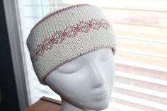 Women  Earwarmer/Headband Reversible Knit Fair by SnugableTouches, $22.00