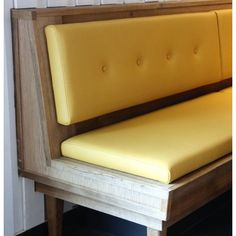Ideas corner booth seating banquette bench for 2019 Restaurant Banquette, Restaurant Booth Seating, Booth Seating In Kitchen, Kitchen Booths, Storage Bench Seating, Pallet Seating, Cafe Seating, Floor Seating, Lounge Seating