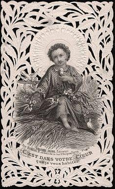 Christmas Doves near to His Heart.   YBH