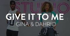 """Gina and Dahrio Wonder Dance to """"Give It To Me"""""""