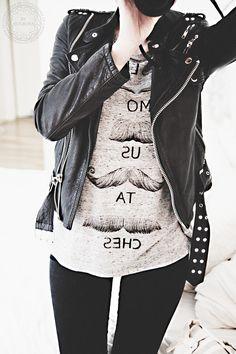 ★ Rock 'n' Roll Style ★ Jofama By Kenza leather jacket