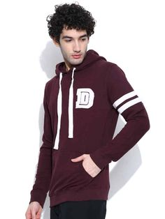 Dream of Glory Inc Burgundy Hooded Sweatshirt