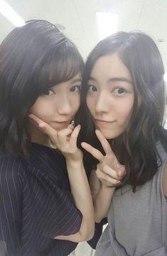 Mayu Watanabe and Matsui Jurina  SKE48, AKB48