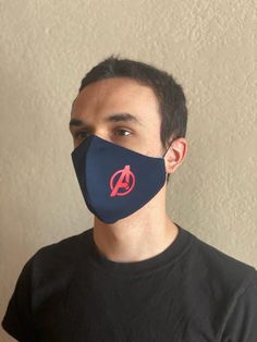 Avengers Face Mask Men Mask Adult Super Heroes High Quality   Etsy Nose Mask, Diy Face Mask, Face Masks, Super Hero High, New Car Smell, Embroidery Flowers Pattern, Almost Perfect, Shopping World, Clothing Hacks