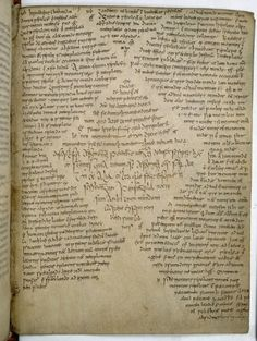 moonsiren: irisharchaeology: Page from the Book of Armagh, an Irish manuscript which dates from c. 9th century AD(The Book of Armagh TCD MS 52 f 103r, viahttp://tinyurl.com/mlbcq46) via forestferncreations.tumblr.com.