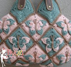 crochet purse CROCHET AND KNIT INSPIRATION: http://pinterest.com/gigibrazil/crochet-and-knitting-lovers/
