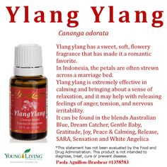 Young Living Essential oil Ylang-Clang Email me at roniwings@gmail.com  https://www.youngliving.com/signup/?site=US&sponsorid=1736118&enrollerid=1736118