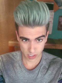 Men's Merman Hair Pastel