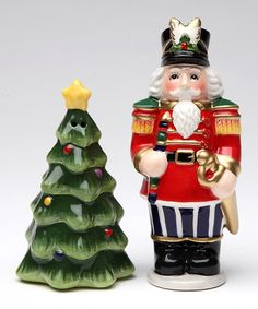 Look at this Nutcracker Salt & Pepper Shakers on #zulily today!