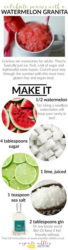 Gluten free and vegan boozy watermelon granita   Anyonita-Nibbles
