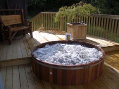 Maine Cedar Hot Tubs, Handcrafted in Maine