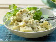 Kartoffel-Blumenkohl-Curry - auf indische Art - smarter - Kalorien: 322 Kcal - Zeit: 35 Min. | eatsmarter.de Curry lässt sich mit Blumenkohl ebenfalls zubereiten.