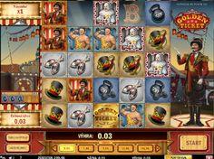 Výherné automaty Golden Ticket - Vitajte v cirkuse, práve začína predstavenie na výhernom automate Golden Ticket od spoločnosti PLAY´n GO, ktorý má 5 stĺpcov a 5 radov. #HracieAutomaty #Jackpot #Vyhra #VyherneAutomaty #Golden #Ticket - http://www.hracie-automaty.co/sloty/vyherne-automaty-golden-ticket