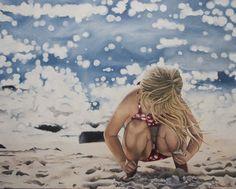 "Saatchi Online Artist: Alex Marmarellis; Oil 2010 Painting ""Shells shells shells"""