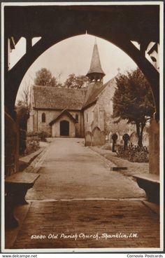 Other - Old Parish Church, Shanklin, Isle of Wight, c.1930s - Sweetman RP Postcard