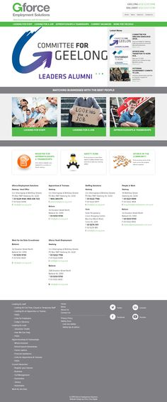 A custom website development for a job recruitment company. The websites visual design is simple, clean and effective. Under the hood it has custom developed features that allow the client to post jobs and manage content. Employment Service, Portfolio Website Design, Web Design Projects, Custom Website, Design Development, Digital Marketing, Content, Simple