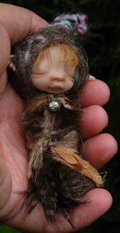 sweet baby cocoon oak fairy