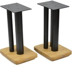 Moseco XL 600 is a chunkier version of the award winning Moseco 6 speaker stands (same 600mm height), with extra-wide columns to support larger speakers.