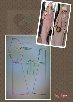 Beginning to Sew Modest Clothing Patterns – Recommendations from the Experts Sewing Hacks, Sewing Tutorials, Sewing Projects, Clothing Patterns, Dress Patterns, Sewing Patterns, Muslim Dress, Hijab Dress, Swag Dress