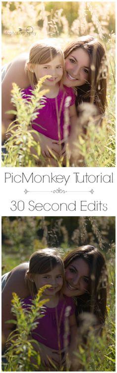 PicMonkey Edit Tutorial - link to free Lightroom trial