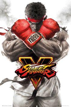 Street Fighter 5Ryu Key Art - Official Poster