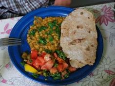 Alice Waters' Flatbread With Spicy Split Peas