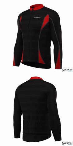 Cycling Clothing 158990  Mens Cycling Jersey Long Sleeve Thermal Cold Wear  Roubaix Bicycle Top Jacket fee16c63c