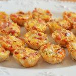 Cheesy Bacon Rotel Cups