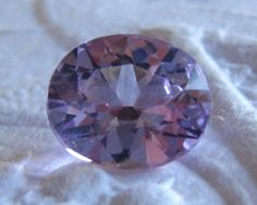 Precision Cut Violet Tanzanian Spinel, by JuliaBJewelry on Etsy