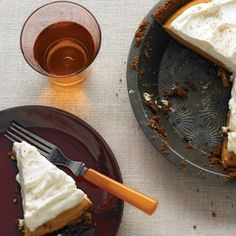 Pumpkin Cream Pie #recipe