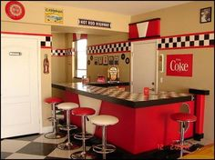#SoVintage Classic 50's restaurant