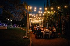 Festoon Lighting, Outdoor Lighting Ideas - Laguna Gloria - Photo by You Are My True Photography (Nathan Russell Photography) | by IntelligentLightingDesign