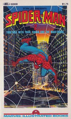Spider-Man 2 Marvel Illustrated Book