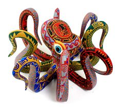 Oaxacan octopus ㊙️Octopus  : More Pins Like This At FOSTERGINGER @ Pinterest