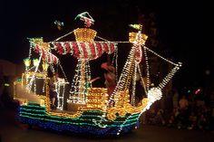Electric Light Parade Pirate Ship