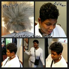 Before & After Makeovers, Hairstyle, Short Hairstyle, Short Cuts, www.restorationdiva.com