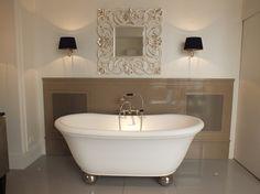 How to create a luxury bathroom, #bathroom #interior design, thedecorcafe.com. #createthehomeyoulove