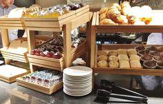 Emma Victoria Stokes AC Hotels Marriott Breakfast Buffet Pastries